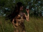 Pornหนังโป๊ฝรั่ง นายพรานผู้โชคดีเจอสาวป่า นอนเกี่ยวเบ็ด กลางทุ่งหญ้า เย็ดกันโชว์สัตว์ป่า เลยครับ