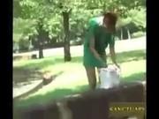 เหตุการจริงๆ ครับทำเรียนแบบในหนังโป๊แต่บอกว่าอันนี้ของจริงๆ ห้ามพลาดแกล้งถอดกางเกงในสาว กลางสวนสาธารณะ