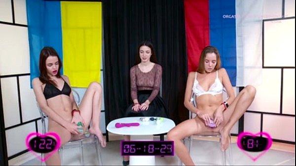 OrgasmWorldChampionship  การแข่งขันนสุดประหลาด จับสองสาวมาเบทหีช่วยตัวเองใครเสร็จก่อนชนะ