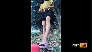 ถ่ายคลิปหีสดๆ สาวจีนโชว์สอนเสียวxxxใต้ต้นทุเรียน เอาขวดน้ำตั้งแล้วนั่งขย่มจนมิดหี ช่วยตัวเองแบบใหม่ลองดูหรือยังเสียวหีโครต
