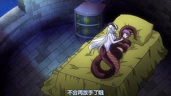 การ์ตูนโป๊ผู้ใหญ่ Anime 18+ โดนสัตว์ประหลาดจับมาเย็ด สาวครึ่งงูโม้กควยให้จนน้ำแตก น้ำเงี่ยนไหลลงร่องหี ต้องเย็ดแตกในแถมให้อีกน้ำ