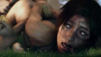 การ์ตูนหื่น Tomb Raider หนังฝรั่งซาดิส จับเย็ดนางเอก มัดแล้วข่มขืนจนรูหีพัง 3Dภาพสวยเย็ดสนั่น